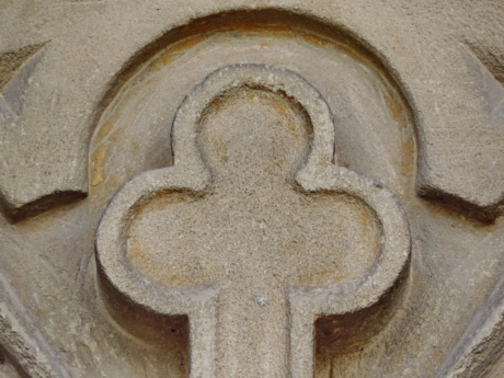 christianity, cross, sculpture, symbol, symmetry, old, architecture, upclose