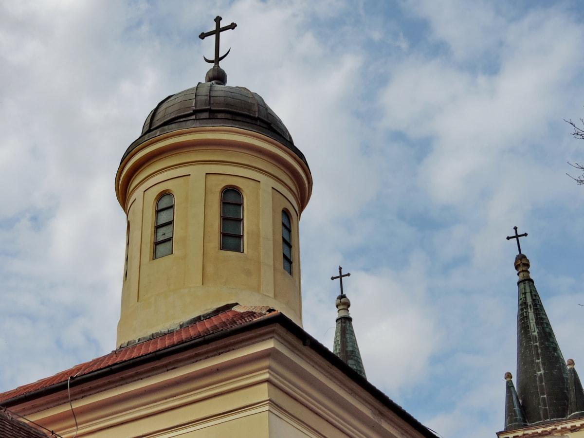 Χριστιανισμός, πύργος εκκλησιών, Σταυρός, Το Ισλάμ, αρχιτεκτονική, θρησκεία, Εκκλησία, Καθεδρικός Ναός