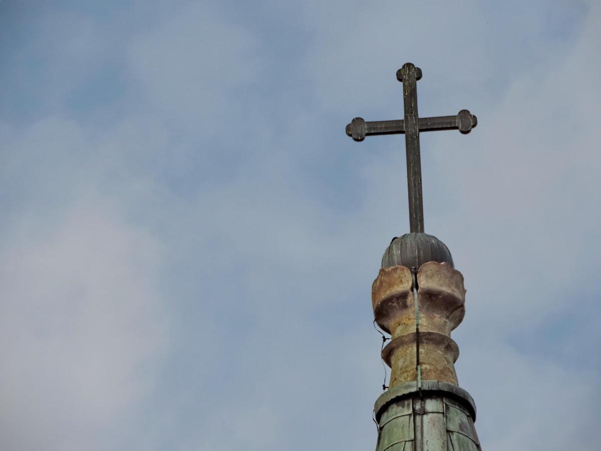 Χριστιανισμός, γοτθικός, αρχιτεκτονική, θρησκεία, Σταυρός, Εκκλησία, φως της ημέρας, σε εξωτερικούς χώρους