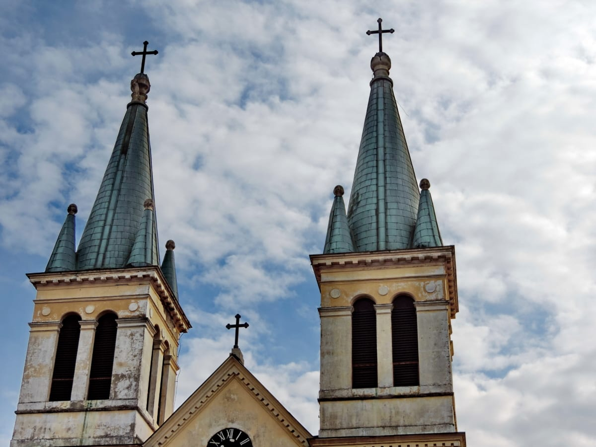 καθολική, πύργος εκκλησιών, θρησκεία, αρχιτεκτονική, Καθεδρικός Ναός, κτίριο, Πύργος, σε εξωτερικούς χώρους