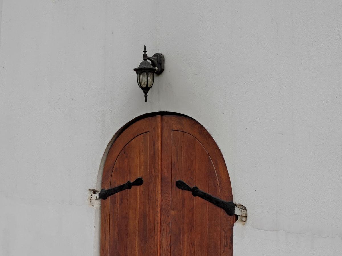 μπροστινή πόρτα, Χειροποίητο, λάμπα φωτός, ξύλο, πόρτα, αρχιτεκτονική, πόρτα, σε εξωτερικούς χώρους
