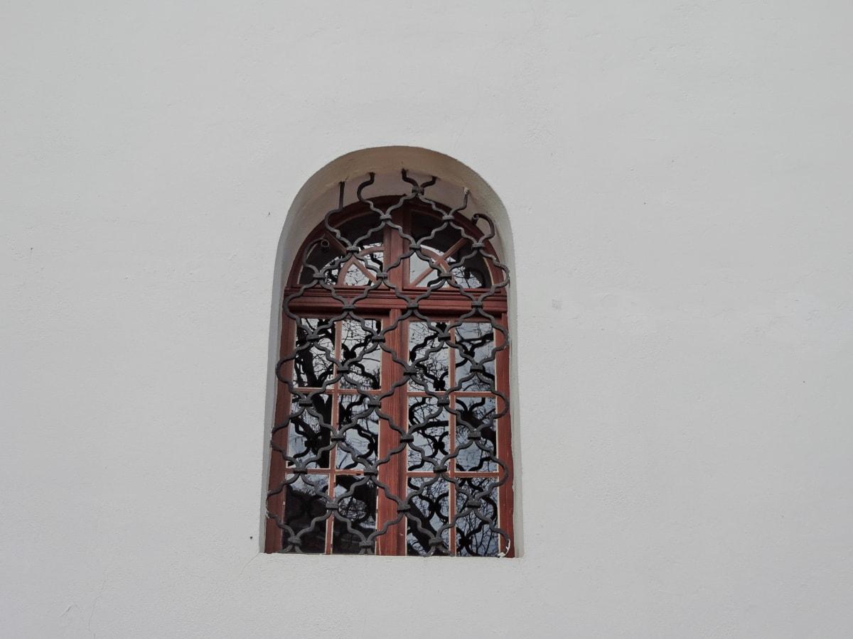 καμάρα, Χυτοσίδηρος, στολίδι, παράθυρο, αρχιτεκτονική, κτίριο, παλιάς χρονολογίας, φως της ημέρας
