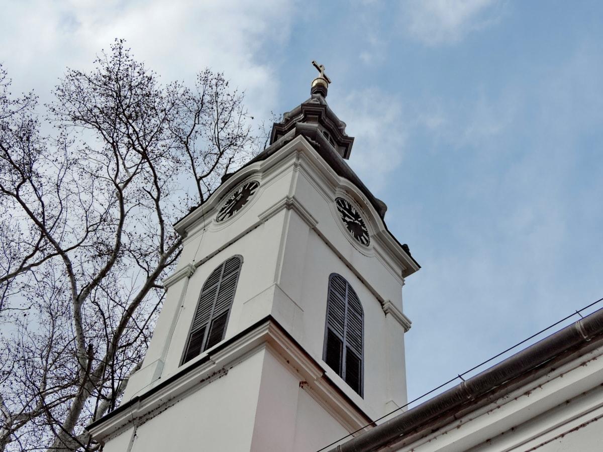Голубое небо, Часовня, Башня церков, Небеса, Монастырь, Архитектура, Кафедральный собор, Религия