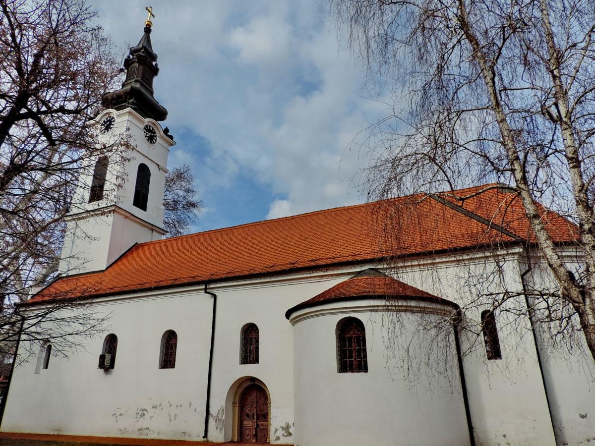 αρχιτεκτονική, κτίριο, θρησκεία, Μοναστήρι, κατοικία, Εκκλησία, παλιά, Σταυρός