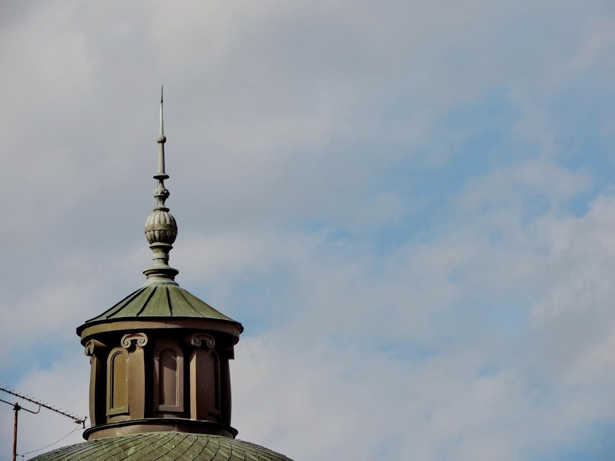 стабилизатор, архитектура, сграда, кула, град, стар, дневна светлина, на открито