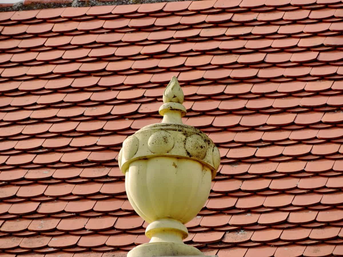 dekorasjon, taket, skulptur, fliser, tradisjonelle, arkitektur, taket, keramiske
