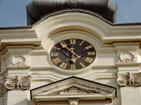 church, architecture, building, analog clock, design, art, classic, style