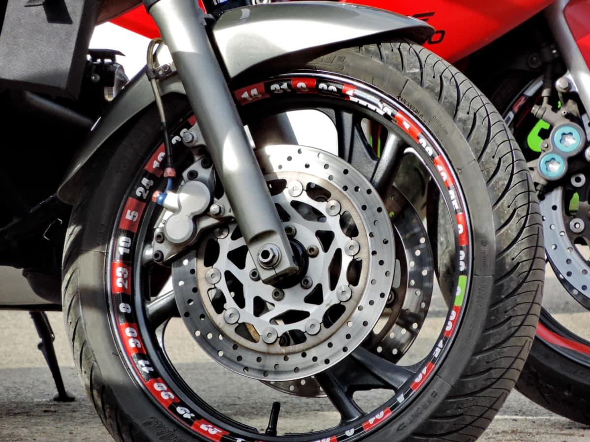 brake, motorcycle, steering wheel, transportation, bike, vehicle, wheel, tire