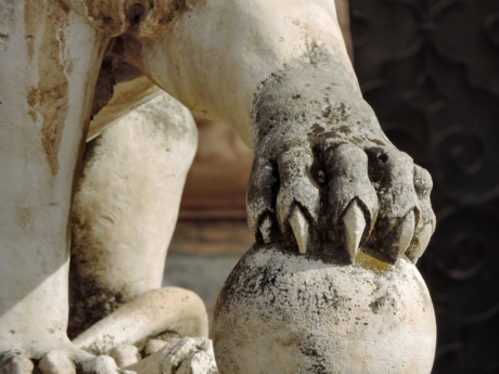 lion, paw, statue, sculpture, nature, ancient, art, museum