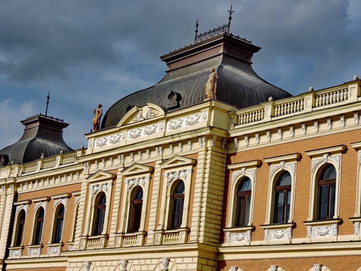 hrad, fasáda, múzeum, budova, dom, palác, Architektúra, Residence