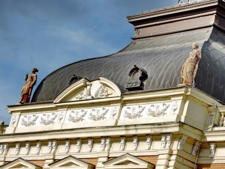culture, dome, imperial, palace, residence, rooftop, sculpture, victorian