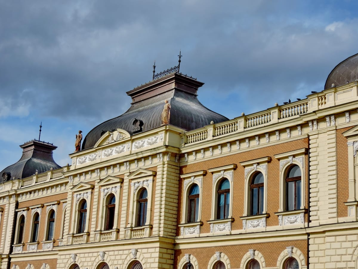 architecture, building, facade, residence, house, palace, old, city