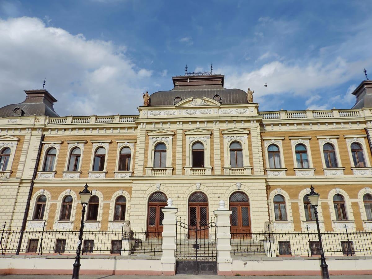 αρχιτεκτονικό ύφος, πρόσοψη, Παλάτι, κατοικία, βικτοριανή, κτίριο, σπίτι, αρχιτεκτονική