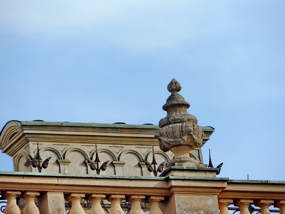 城, 構築, アーキテクチャ, 彫刻, アウトドア, 古代, 古い, アート