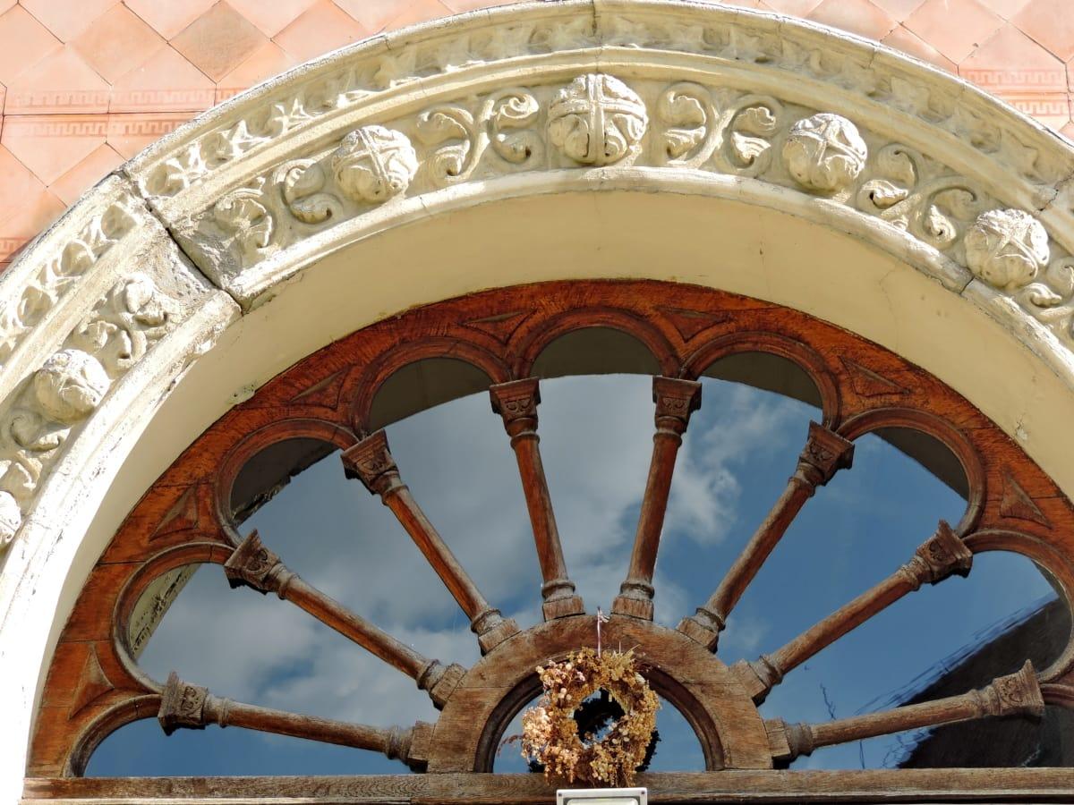 Арабеск, арка, Украшение, отражение, дървени, архитектура, структура, сграда