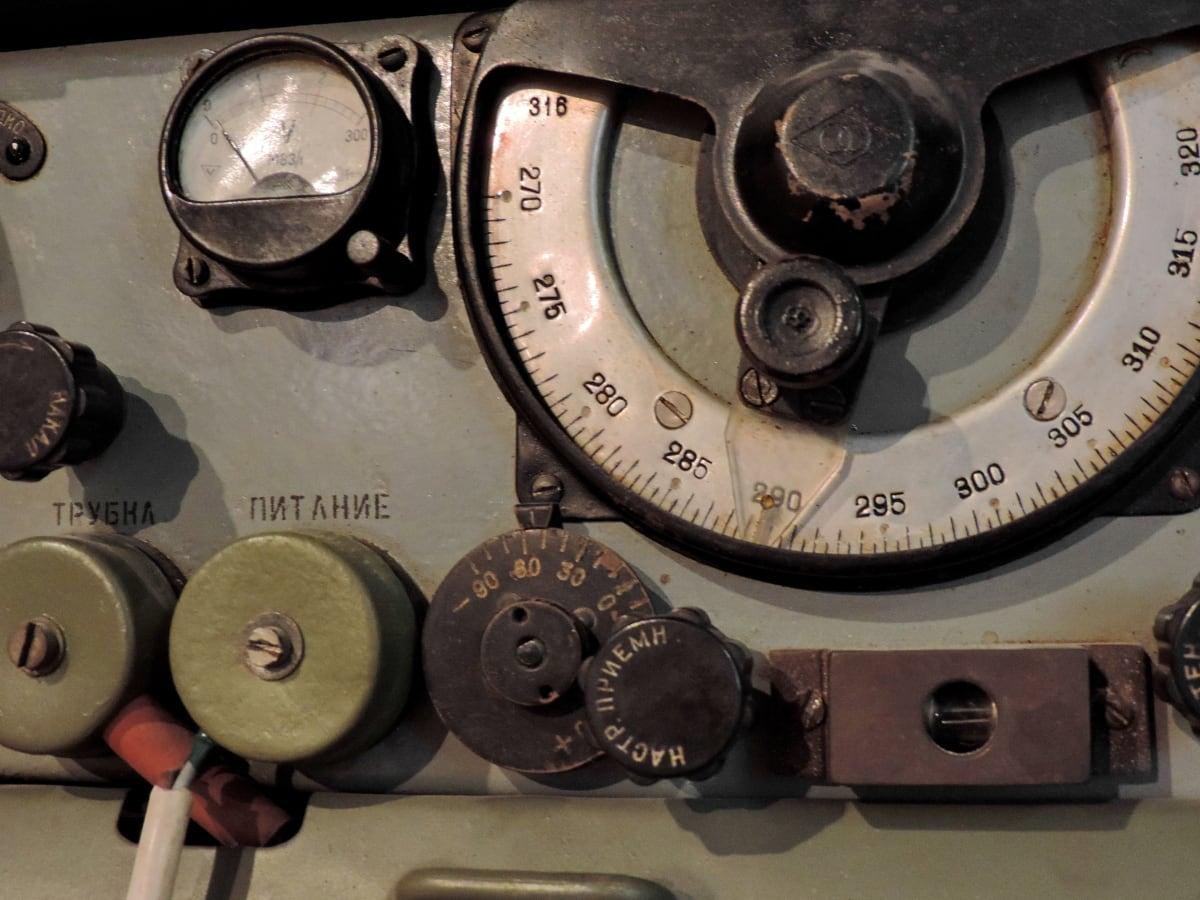 αρχαιότητα, μηχανισμός, παλιά, Ραδιοφωνικός δέκτης, συσκευή, αντίκα, τεχνολογία, Εξοπλισμός