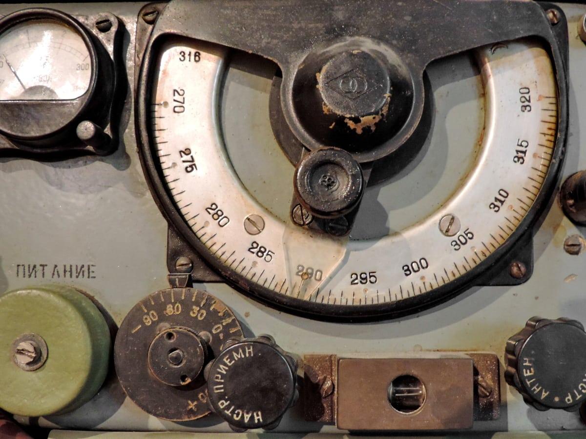 αρχαιότητα, νοσταλγία, Ραδιοφωνικός δέκτης, ραδιοφωνικός σταθμός, μηχανισμός, συσκευή, παλιά, αντίκα