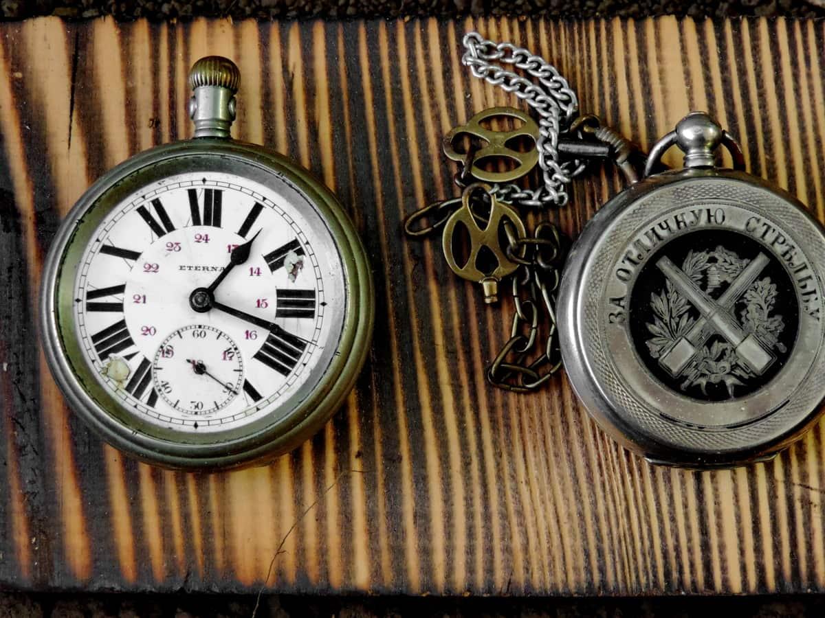 Антик, старомодна, стар стил, часовник, Гледай, минута, време, таймер