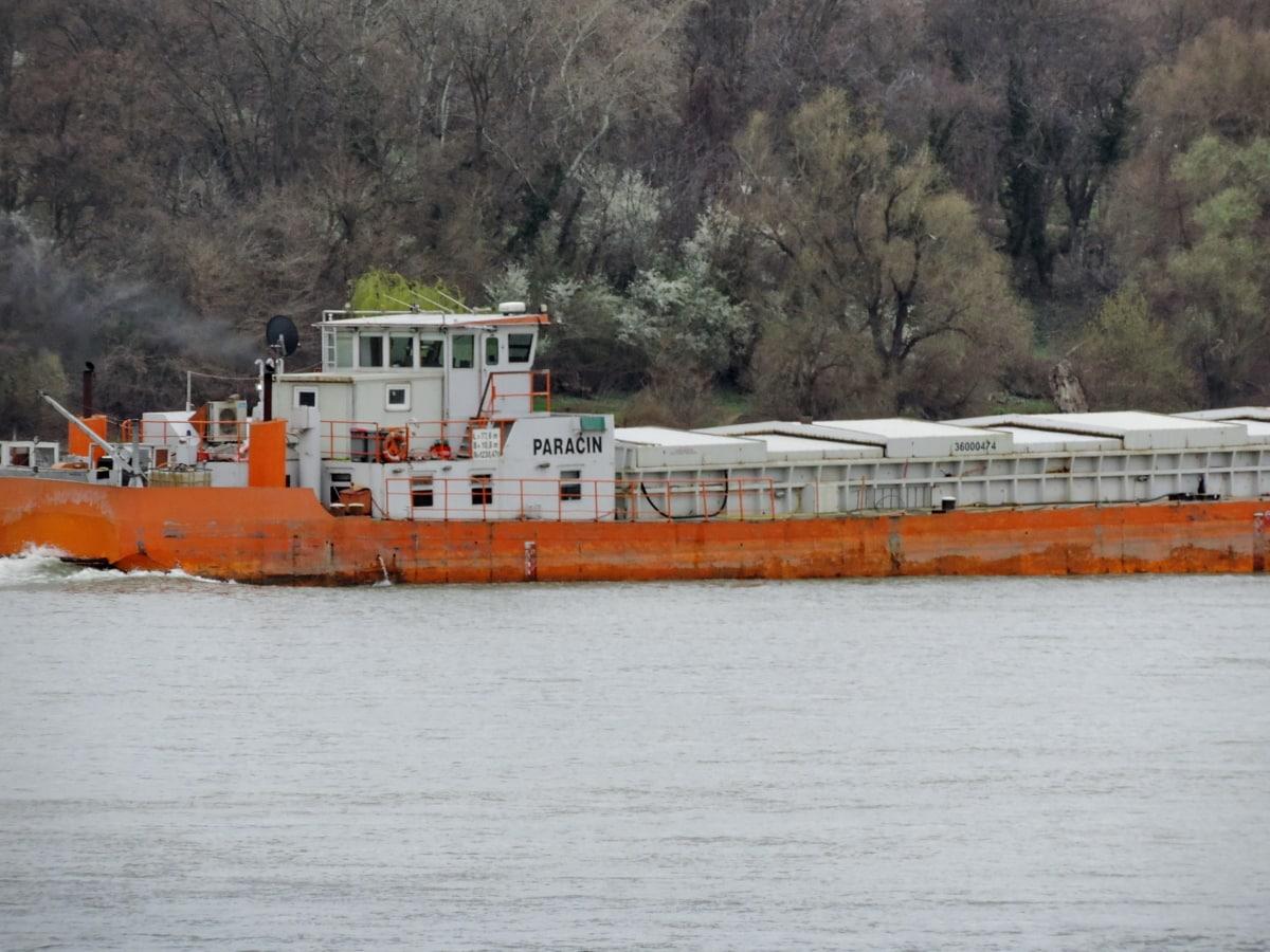 влекач, лодка, кораб, плавателни съдове, вода, превозно средство, порт, кораб