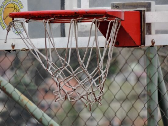basketball court, web, fence, recreation, sport, wire, competition, game