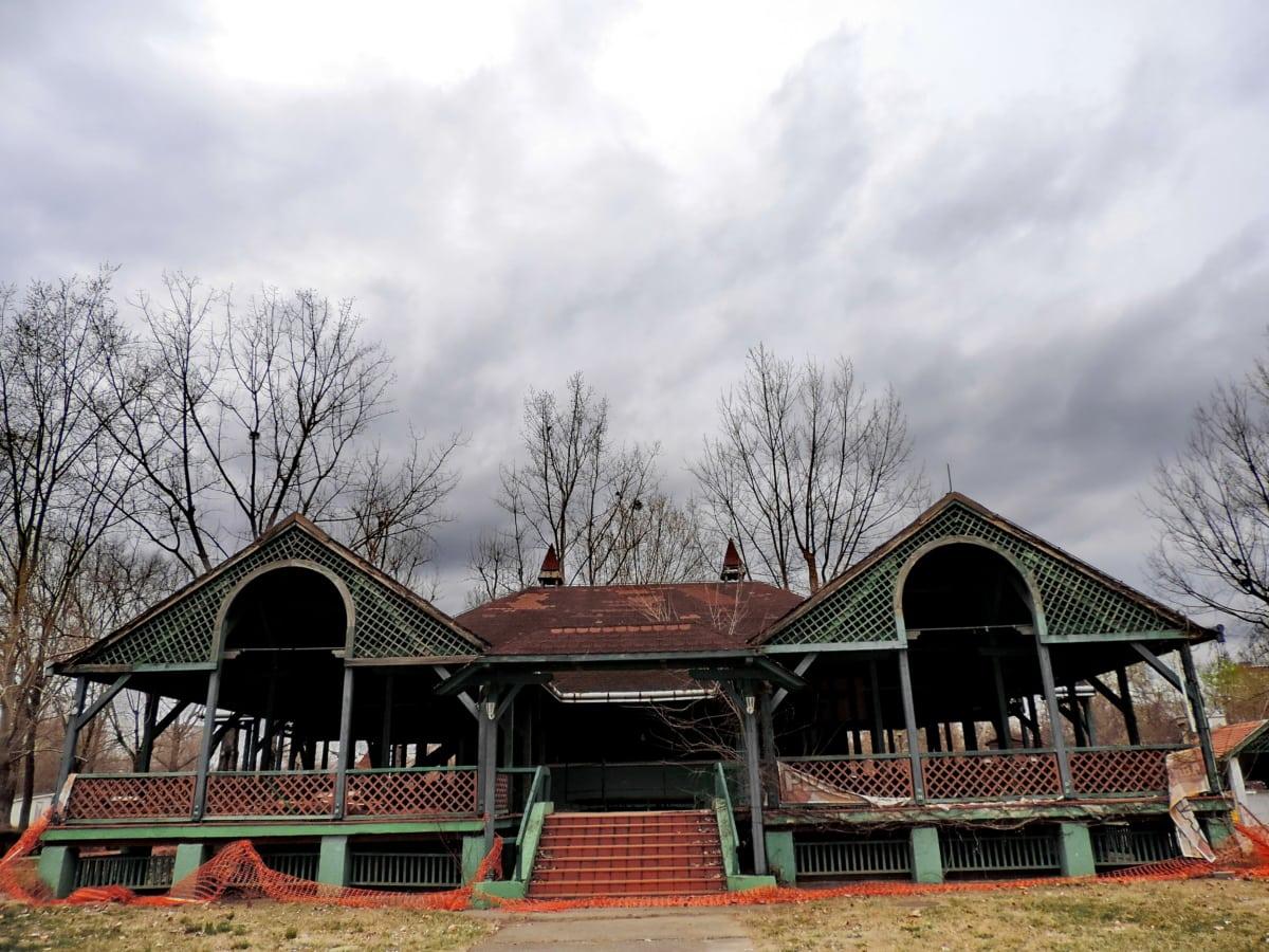 изоставени, навес, къща, структура, сграда, плевня, дървен материал, Домашно огнище