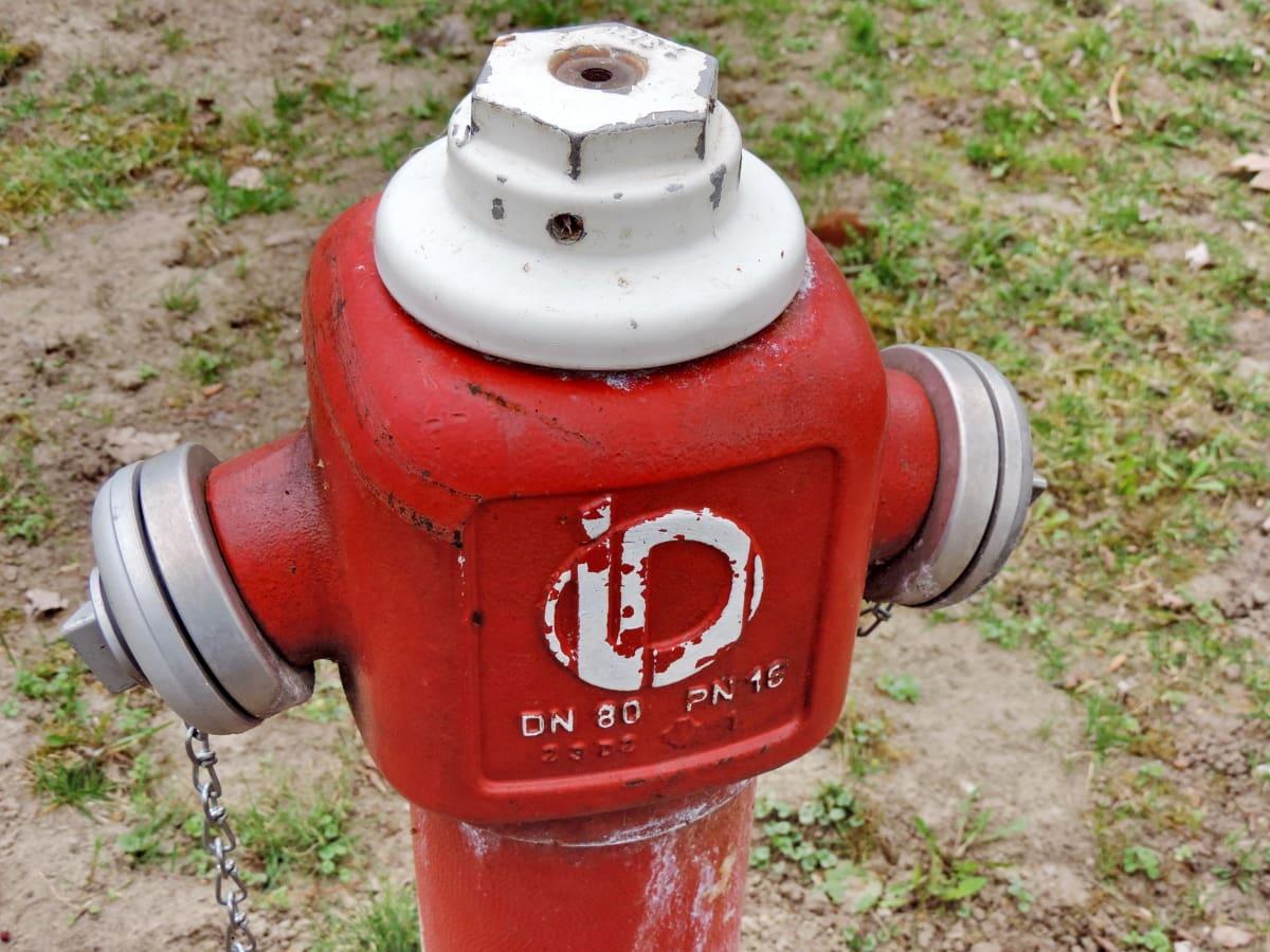 lijevano željezo, hidrant, metal, sigurnost, oprema, retro, slavina, benzin