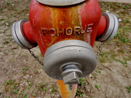 alloy, aluminum, cast iron, hydrant, object, nature, hose, old