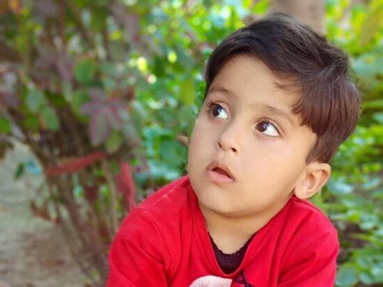 boy, child, childhood, outside, photo model, portrait, pretty, happy