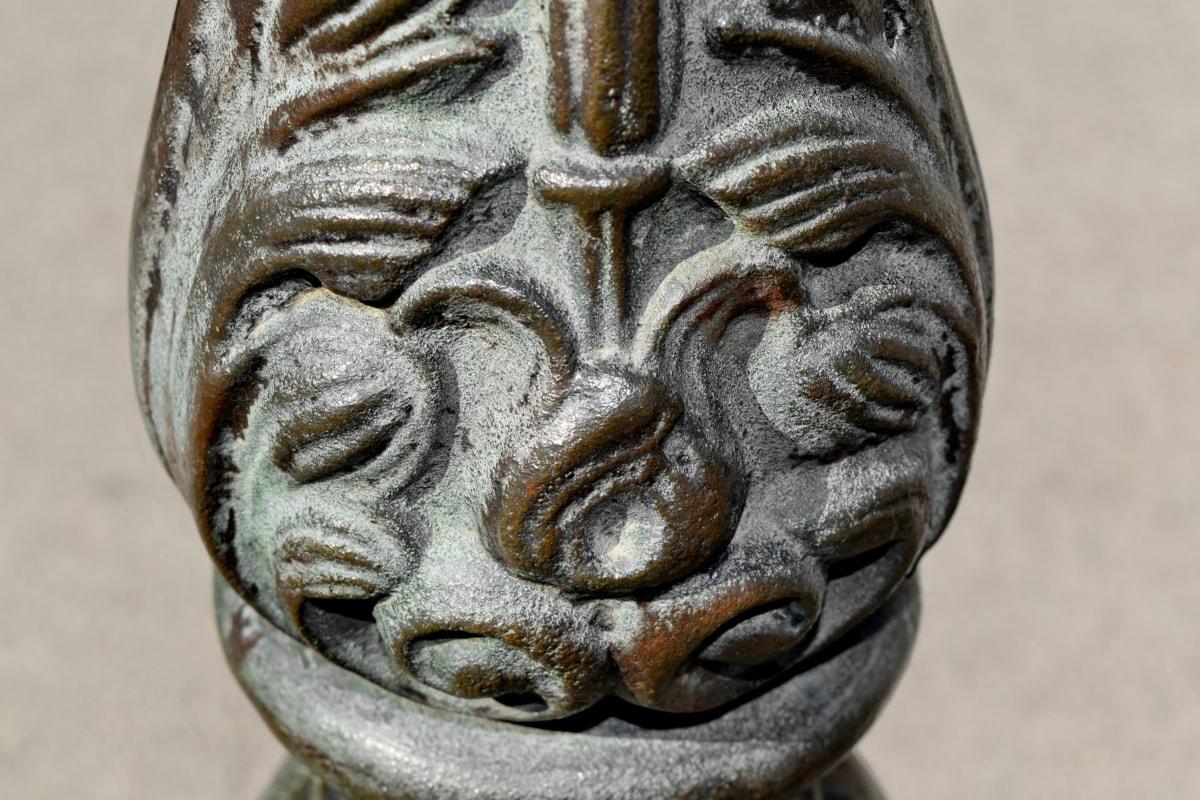 brąz, Żeliwo szare, Rzeźba, starożytne, sztuka, przebranie, kultury, stary