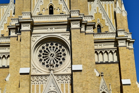 building, architecture, church, cathedral, facade, religion, old, city