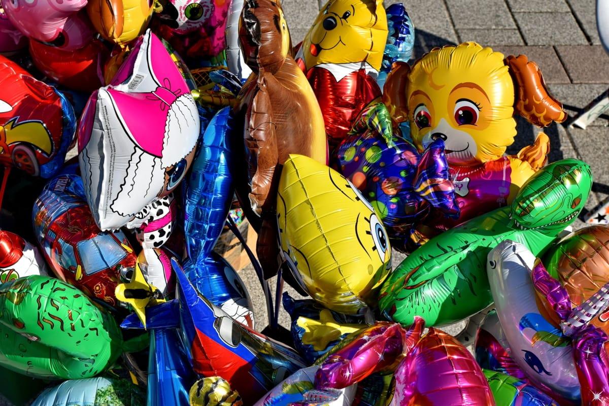 балон, хелий, фестивал, Магазин за детски играчки, парад, празник, цвят, култура