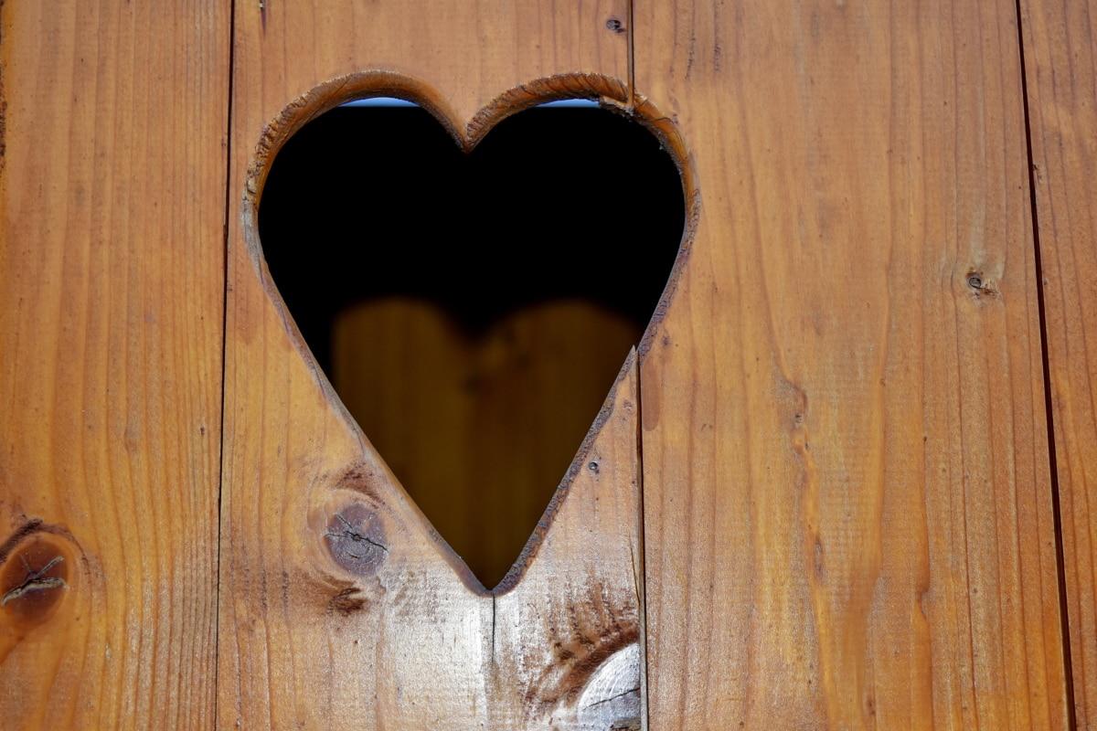 Ξυλουργικές εργασίες, Χειροποίητο, μασίφ ξύλο, καρδιά, σχήμα, ξύλινα, ξύλο, τρύπα