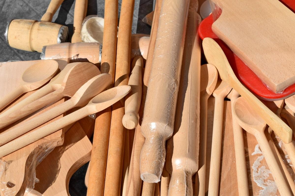 ค้อน, เครื่องครัว, ช้อน, บนโต๊ะอาหาร, ไม้, ไม้, อุตสาหกรรม, สถาปัตยกรรม