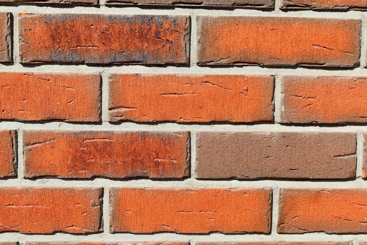 hormigón, superficie, ladrillo, pared, textura, antiguo, cemento, construcción