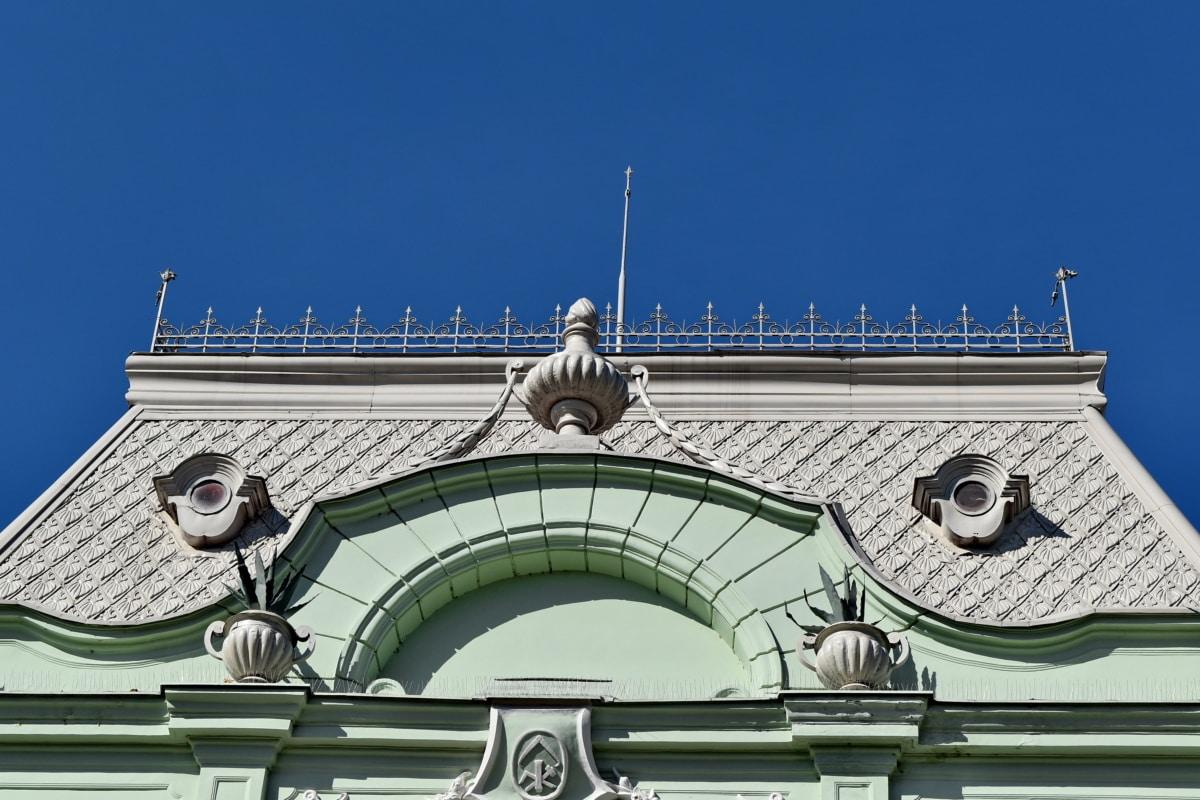 Skapa, fasad, arkitektur, tak, staden, gamla, kultur, Utomhus