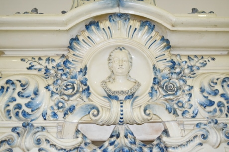 baroque, bust, marble, ornament, art, decoration, architecture, design