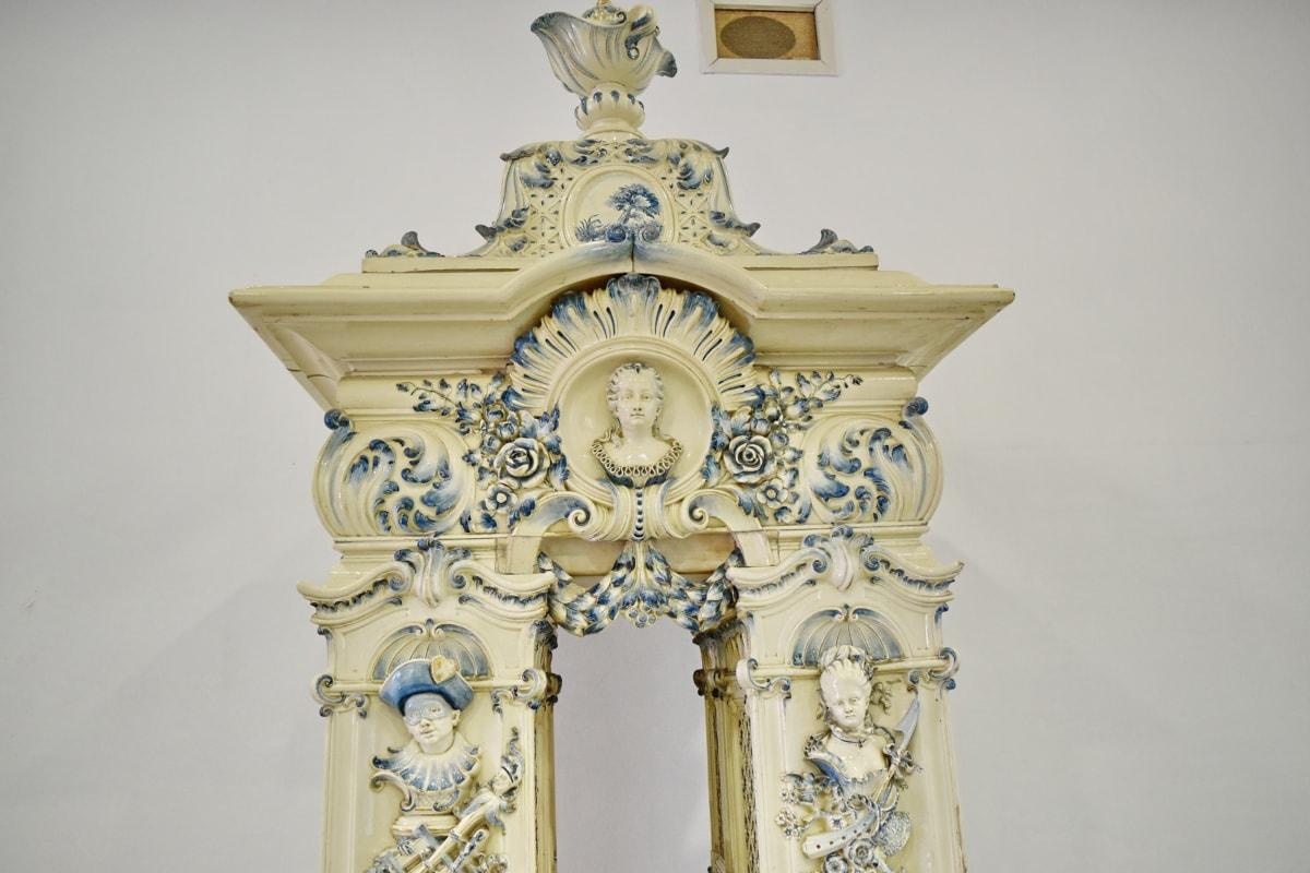 Барок, култура, вътрешна украса, Украшение, декорация, изкуство, Антик, скулптура