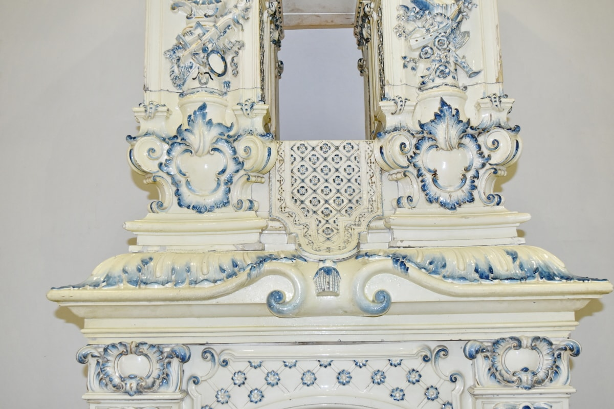 antiquity, fireplace, furniture, decoration, design, style, antique, vintage