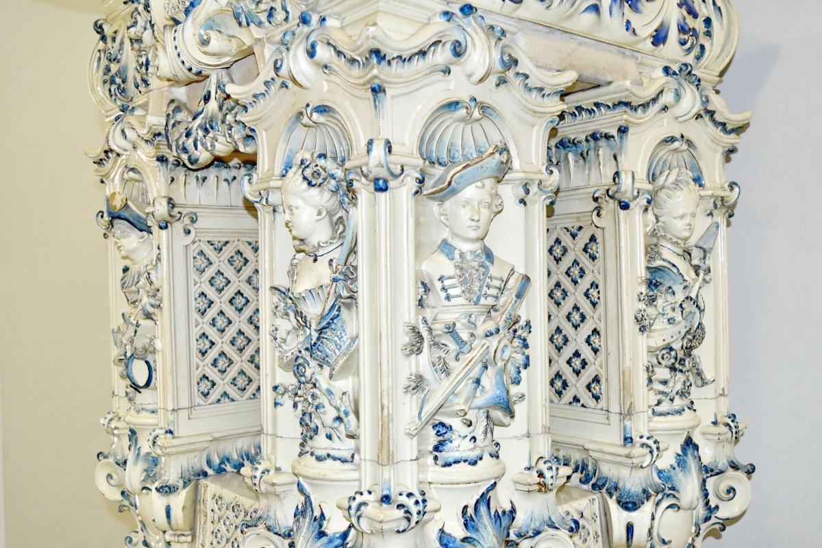 bista, namještaj, umjetnost, dekoracija, starinsko, drevno, stil, dizajn