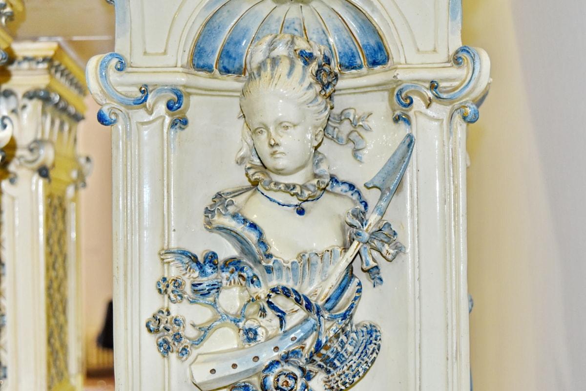barokk, képzőművészet, porcelán, portré, építészet, Művészet, szobrászat, dekoráció