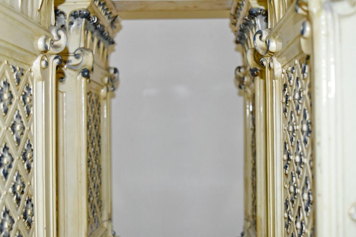 muzeum, ornament, starožitnost, klasické, luxusní, staré, dekorace, design interiéru