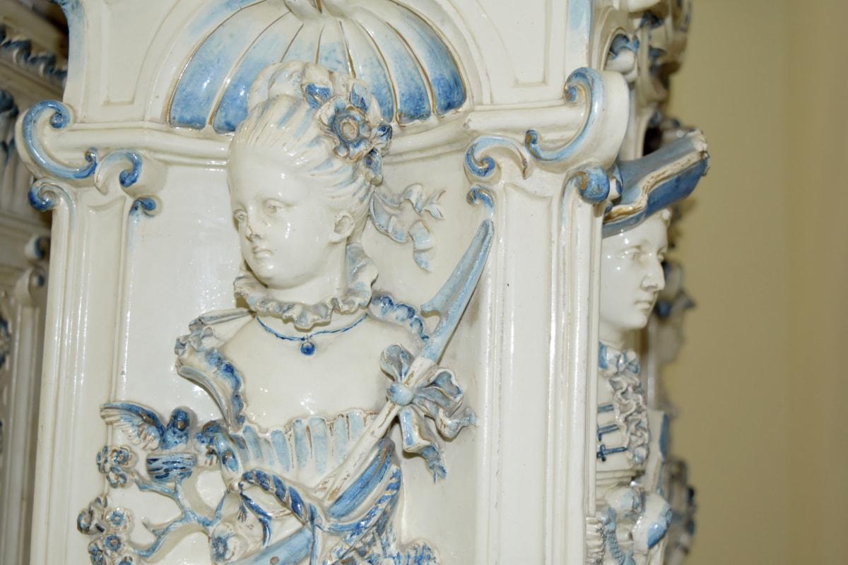 barok, ručni rad, portret, skulptura, arhitektura, dekoracija, umjetnost, mramor