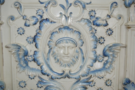 baroque, culture, decor, ornament, porcelain, portrait, sculpture, decoration