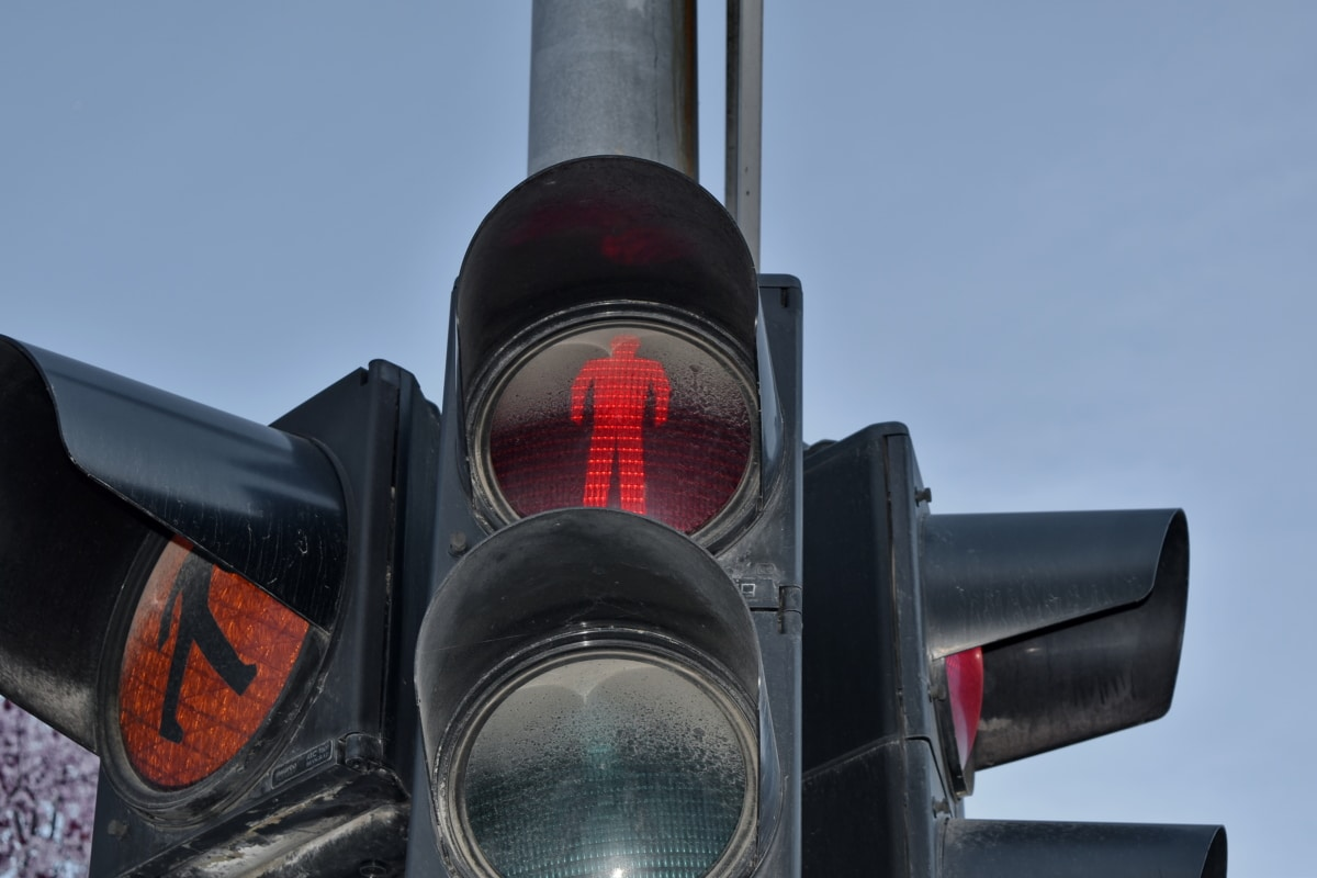 Semafor, trafik kontrol, trafik ışığı, aparatı, ekipman, trafik, Emanet, Sanayi
