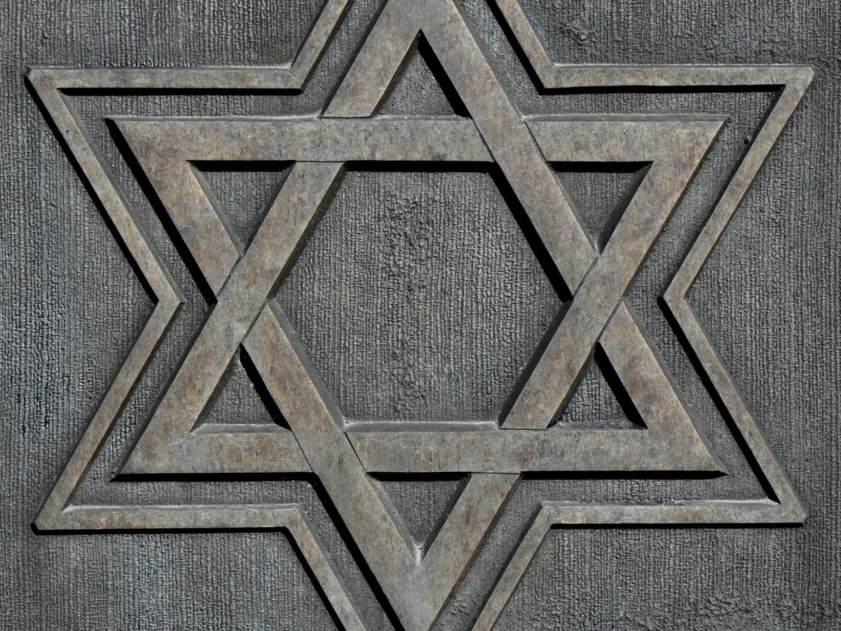 Bronzo, Dettagli, scultura, Star, simbolo, simmetria, modello, trama