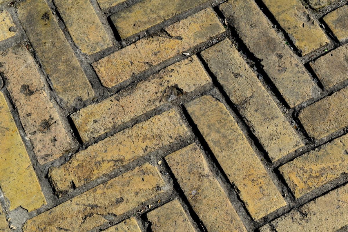 архитектура, текстура, стар, камък, тухла, модел, повърхност, стена