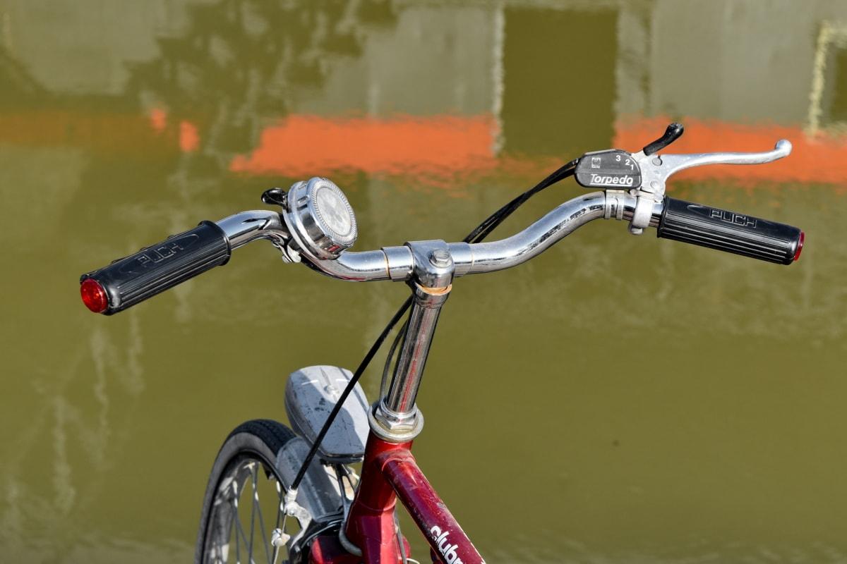 chróm, svetlometov, nostalgie, Vonkajší, volant, Horský bicykel, bicyklov, koleso