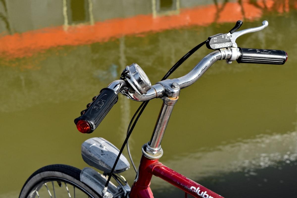 хром, крайбрежие, метални, носталгия, кормилното колело, Колела, превозно средство, колело