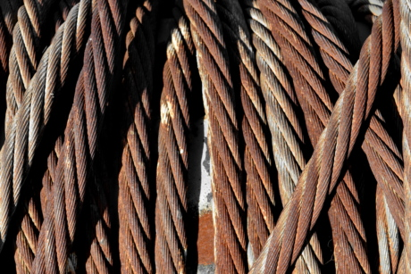 cast iron, rust, steel, line, rope, knot, wicker, texture
