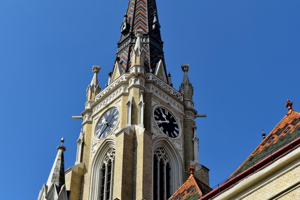 πύργος εκκλησιών, ορόσημο, Καθεδρικός Ναός, αρχιτεκτονική, Εκκλησία, κτίριο, Πύργος, θρησκεία